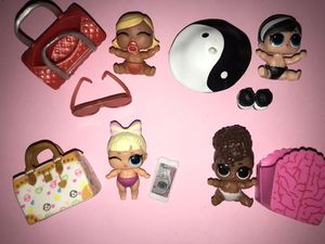 Lol Dolls lil sisters lot of 4 for Sale in Portland, OR