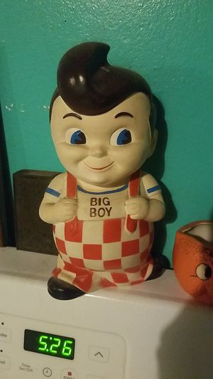 Antique Frisch's Big Boy Coin Bank for Sale in Tampa, FL