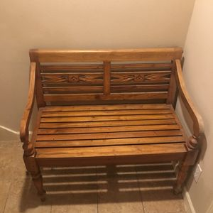 Wooden Bench for Sale in Seattle, WA