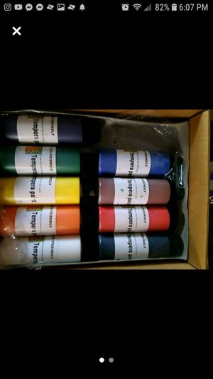 Paint sets that come with temporary tattoos and oil colors for Sale in Alexandria, LA