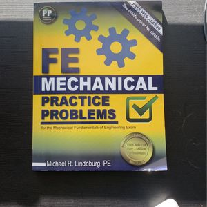 FE Mechanical Practice Problems for Sale in Portland, OR