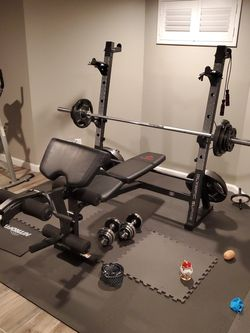 Olympic Weight Bench / Open Box (New) / Excludes Weights for Sale in Rockville Centre,  NY