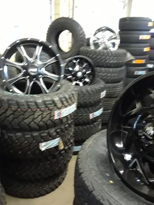 tires and rims with payment for Sale in Columbus, OH