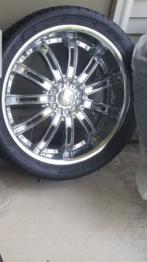 20 inch Velocity Wheels set $500 for Sale in West Bloomfield Township, MI