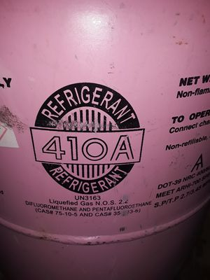 410a freon sealed canister for Sale in San Antonio, TX