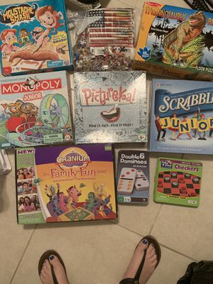 Board games and puzzles for Sale in Fort Lauderdale, FL