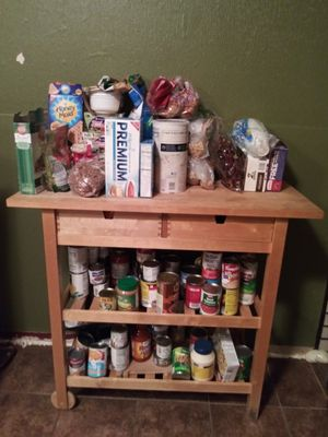 Kitchen Island with barstools for Sale in Richland, WA