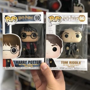 Funko Pop - HARRY TRI-WIZARD + TOM RIDDLE - Harry Potter for Sale in Rowland Heights, CA