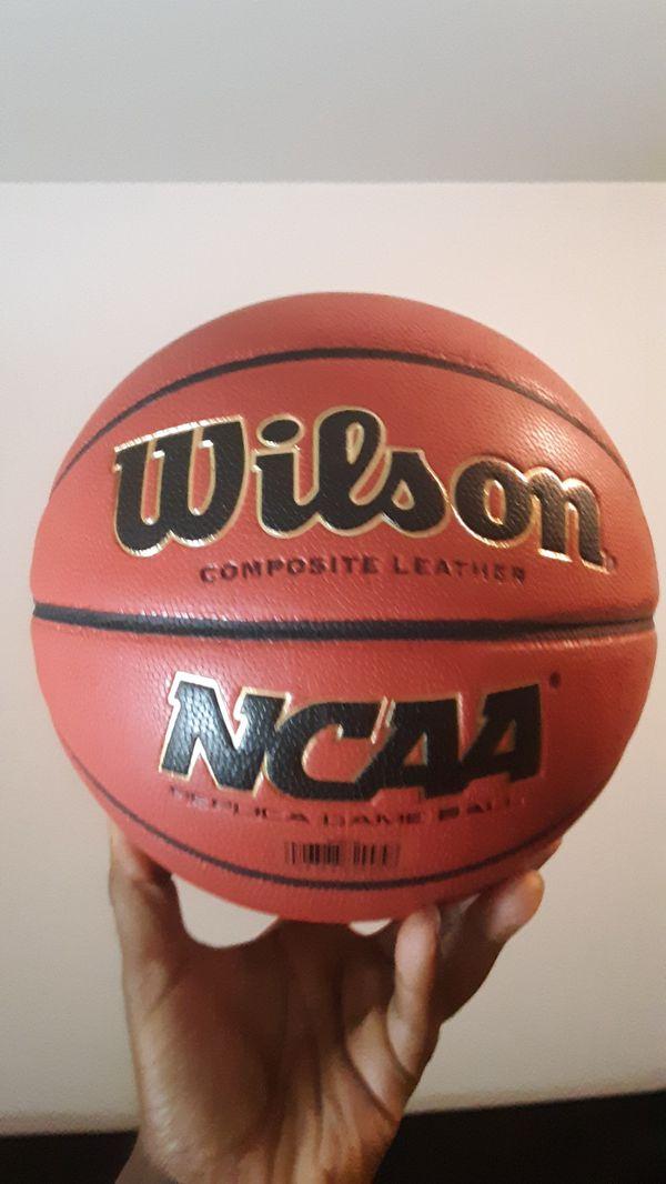 Brand new indoor basketball