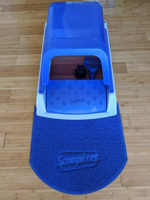 PetSafe ScoopFree Ultra automatic self cleaning hooded litterbox for Sale in Redwood City, CA
