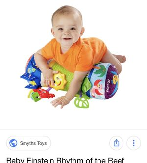 Baby Einstein baby propping toy- great for tummy time! for Sale in Portland, OR