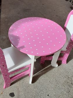 Doll Play Table And Chairs for Sale in El Sobrante,  CA
