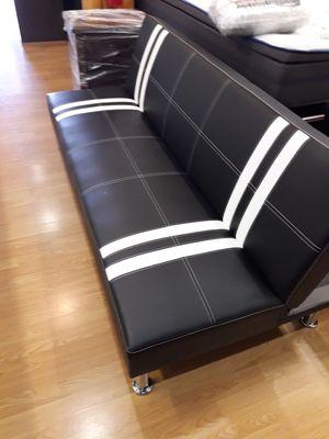 Brand new black and white twin futon couch for Sale in Santa Monica, CA