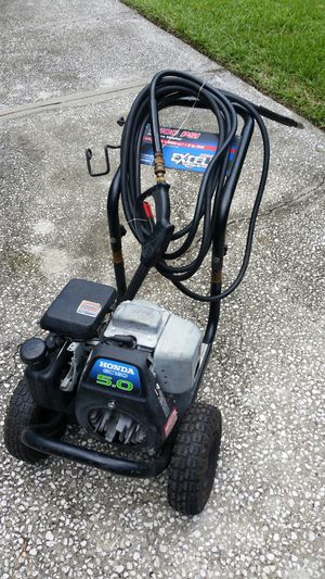 Excell 2400 Honda 5hp Pressure Washer for Sale in Spring Hill, FL