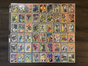 Marvel vintage collectible cards for Sale in Los Angeles, CA