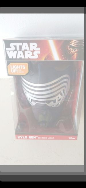 PRICE FIRM! NEW STAR WARS MASK(3D LIGHT) for Sale in Delray Beach, FL