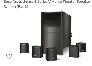 BOSE ACOUSTIMASS-6 Home Theater Speaker System for Sale in Chula Vista, CA