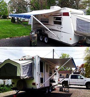 hybrid camper Rockwood ROO Forest River 09 19ft. for Sale in Huntington Beach, CA