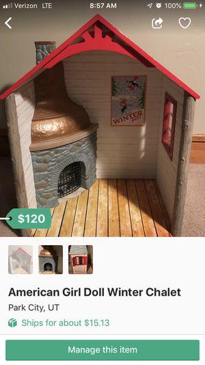 American Girl Doll Winter Chalet for Sale in Park City, UT