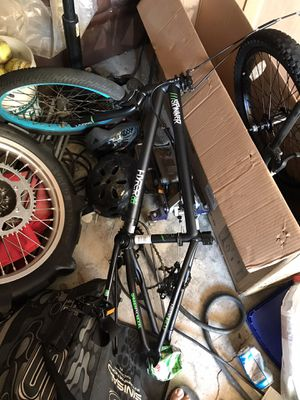 Bike frame needs front wheels and tires (both front and rear), make offer! for Sale in Los Alamitos, CA