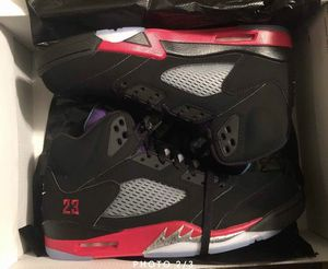 Nike Air Jordan Retro 5 Top 3 Black Grape Fire Red sz 11.5 — SOLD OUT for Sale in Austin, TX