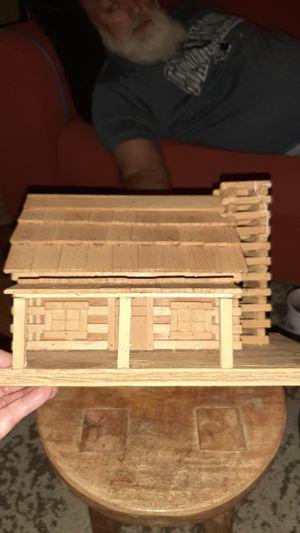 Handmade all-wood cabin for Sale in Dalton, GA