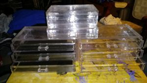 3 acrylic organizers for Sale in Houston, TX