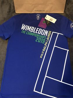 Ralph Lauren Polo Wimbledon Vintage 2019 Tee Size Small for Sale in Dallas,  TX