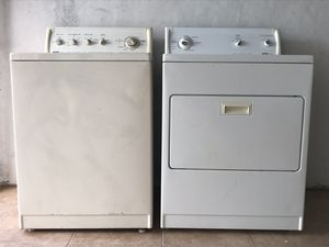 Washer and Dryer Kenmore 80 Series for Sale in Pembroke Pines, FL