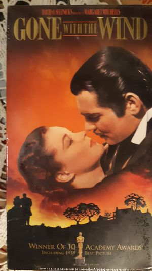VHS tape of Gone With Wind new for Sale in Richmond, VA