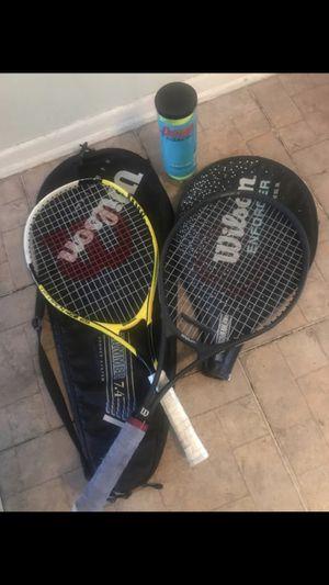 2 Wilson Tennis 🎾 Rackets for Sale in Los Angeles, CA