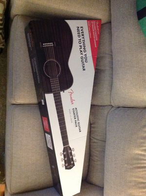 Fender, acoustic guitar starter pack for Sale in New Britain, CT