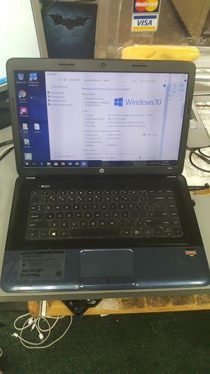"Hp 15"" laptop notebook computer WIN 10 AMD e-300 4gb 500gb hdd for Sale in Baltimore, MD"