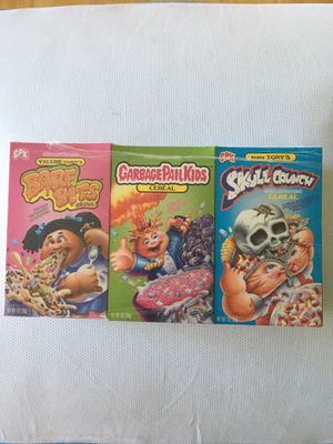 GARBAGE PAIL KIDS CEREAL for Sale in Palm Harbor, FL