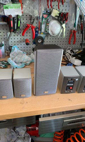 Onkyo speaker set 5 pc for Sale in Naples, FL