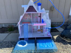 LOL winter chalet dollhouse for Sale in West Richland, WA