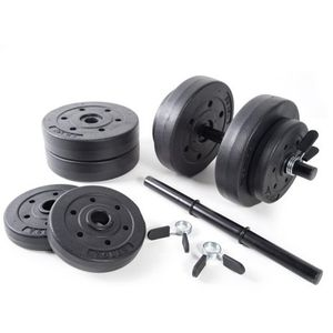 Gold's Gym 40 LBS Vinyl Dumbbell Set Weight Hand Adjustable - Brand New for Sale in Rockville, MD