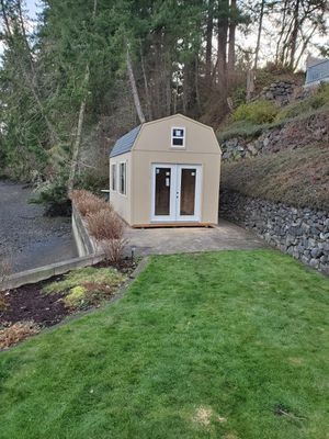 10x20 barn style shed for Sale in Tacoma, WA