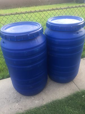 Barrels 50gallons each for Sale in Chicago, IL
