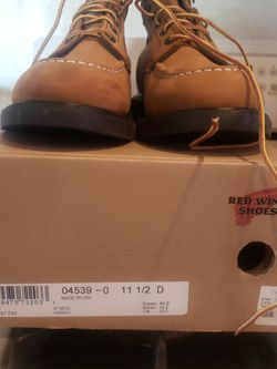 Red Wings X Jcrew Boots 11.5 for Sale in Garden Grove,  CA
