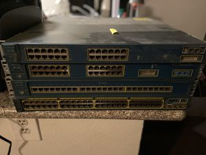 Cisco Switchs Routers CCNA CCENT Home Lab Equipment for Sale in Fontana, CA