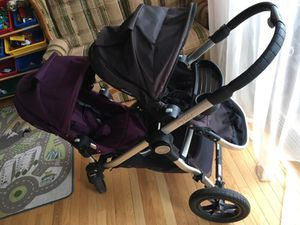 City select double stroller with bassinet and 2 seats for Sale in Alexandria, VA
