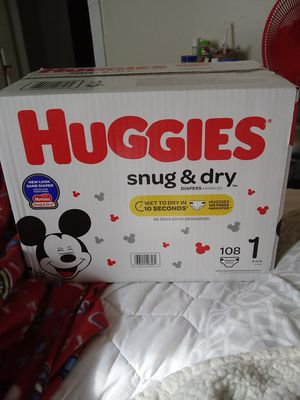 Infant huggie diapers for Sale in Columbus, OH