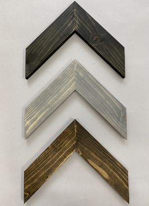 "Wood arrows chevron set of 3 each measures 9""H- 11.5""W for Sale in Costa Mesa, CA"