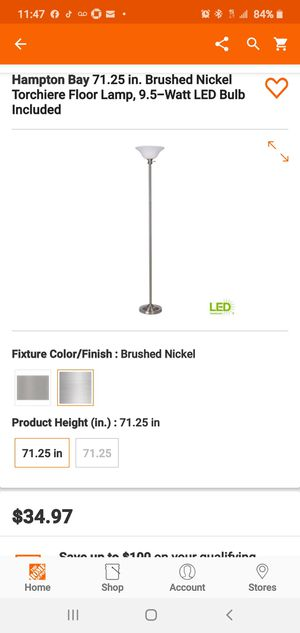 New floor lamp for Sale in Hesperia, CA