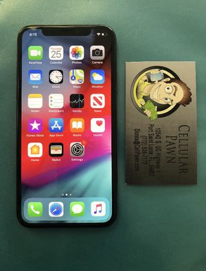 iPhone X 64GB Unlocked for Sale in Port St. Lucie, FL