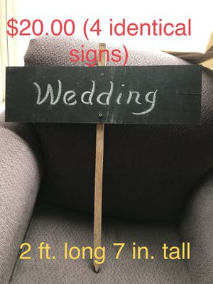 Wedding signs for Sale in Cottage Grove, OR