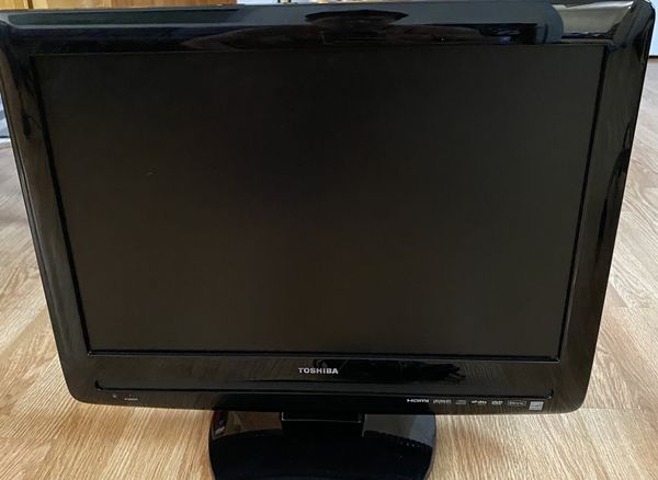 Toshiba TV 19inch build in DVD player