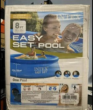 Intex 8ft x 30in Easy Set Swimming Pool New for Sale in Raleigh, NC