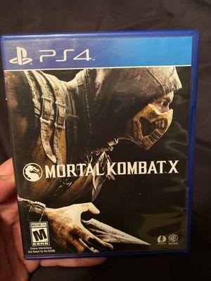 Mortal Kombat X for Sale in Anaheim, CA